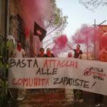 Giornata di Azione Globale in appoggio alle Comunità Zapatiste